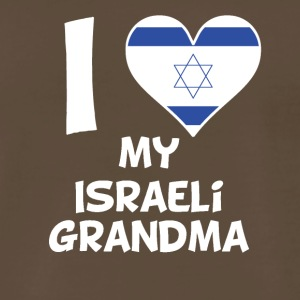 I Heart My Israeli Grandma - Men's Premium T-Shirt