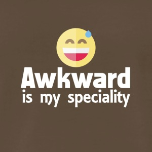 Awkward is my speciality - Men's Premium T-Shirt
