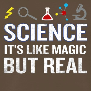 Science It's Like Magic But Real Funny Quote - Men's Premium T-Shirt