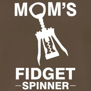 Funny Wine Mom Fidget Spinner Screwpull Lever - Men's Premium T-Shirt