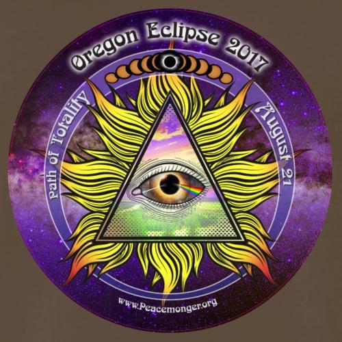 All Seeing Eye Great Oregon Eclipse 2017 Shirt - Men's Premium T-Shirt