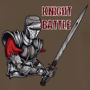 KNIGHT BATTLE - Men's Premium T-Shirt