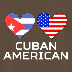Cuban American Hearts - Men's Premium T-Shirt
