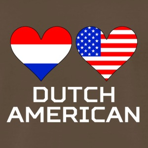 Dutch American Hearts - Men's Premium T-Shirt