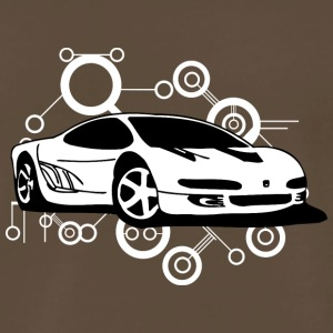 white_ferrari - Men's Premium T-Shirt