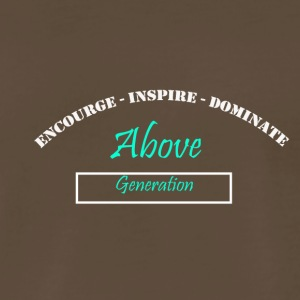 Encourage Inspire Dominate - Men's Premium T-Shirt