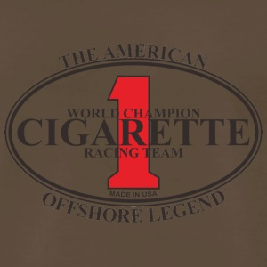CIGARETTE 1 ipl 86 logo2 - Men's Premium T-Shirt