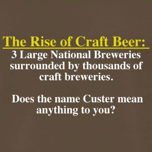 The Rise of Craft Beer - Men's Premium T-Shirt