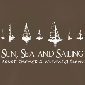 Sun, Sea and Sailing. Never change a winning team! - Men's Premium T-Shirt