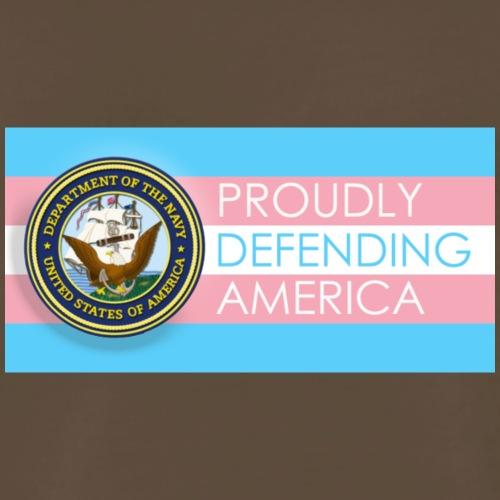 Transgender Navy - Men's Premium T-Shirt