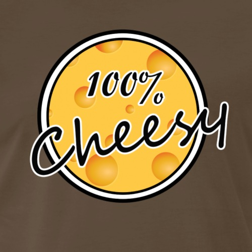 100% Cheesy - Men's Premium T-Shirt
