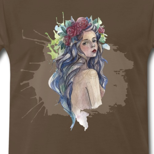 Art girl - Men's Premium T-Shirt