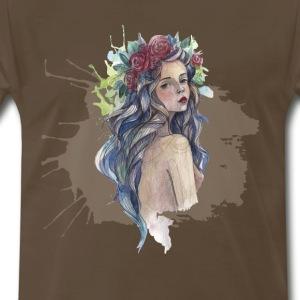 Art girl - Men's Premium T-Shirt