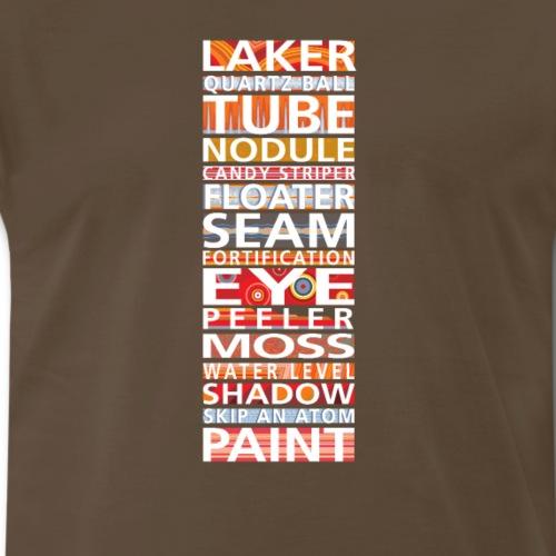 Laker Agate Lingo - Men's Premium T-Shirt