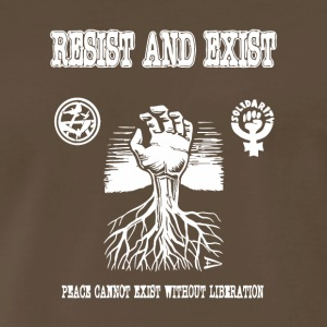 Resist and Exist - Men's Premium T-Shirt