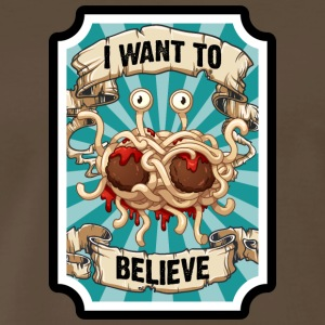 i WANT TO BELIEVE 2 - Men's Premium T-Shirt