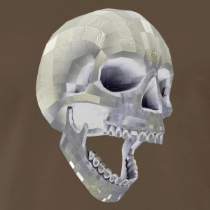 Digital Skull - Men's Premium T-Shirt