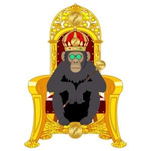 Bitcoin Monkey King - Men's Premium T-Shirt
