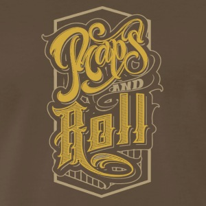 Raps and Roll - Men's Premium T-Shirt