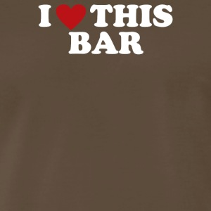 Love Bar - Men's Premium T-Shirt