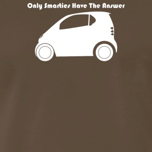 Only Smarties Have The Answer - Men's Premium T-Shirt
