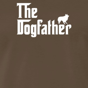 The Dogfather Parody Border Collie Dog Lover - Men's Premium T-Shirt