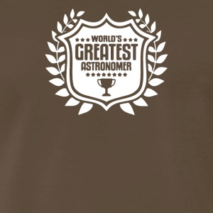 World's Greatest Astronomer Astronomy Enthusiast - Men's Premium T-Shirt