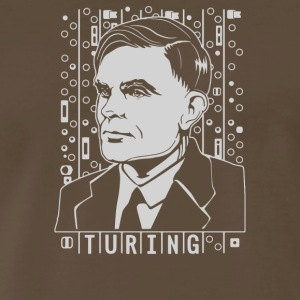 Alan Turing Tribute - Men's Premium T-Shirt