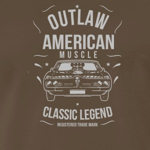 Outlaw American Muscle - Men's Premium T-Shirt