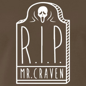 RIP Mr Craven - Men's Premium T-Shirt