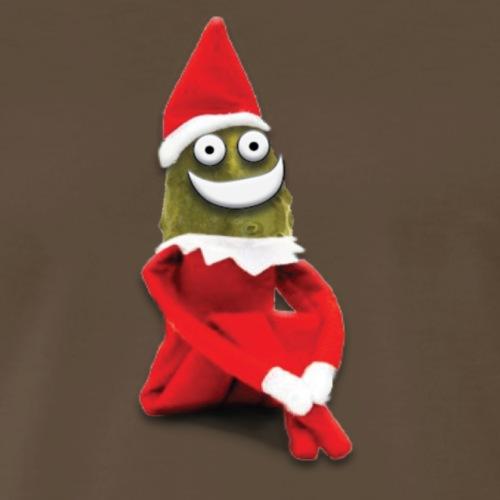 Pickle Elf On A Shelf - Men's Premium T-Shirt