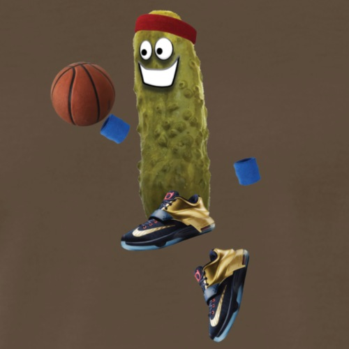 Basketball Pickle - Men's Premium T-Shirt