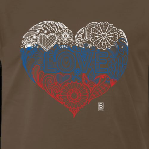 I ♥ Slovakia - Men's Premium T-Shirt