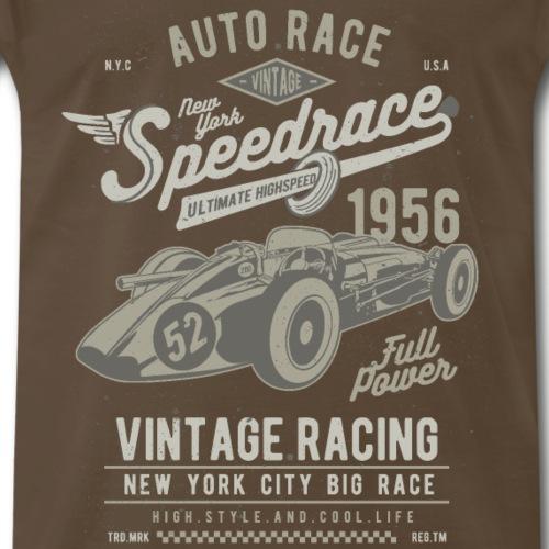 Vintage Racing Newyork - Men's Premium T-Shirt