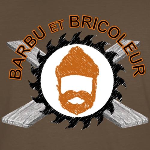 Barbu et Bricoleur - T-shirt premium pour hommes