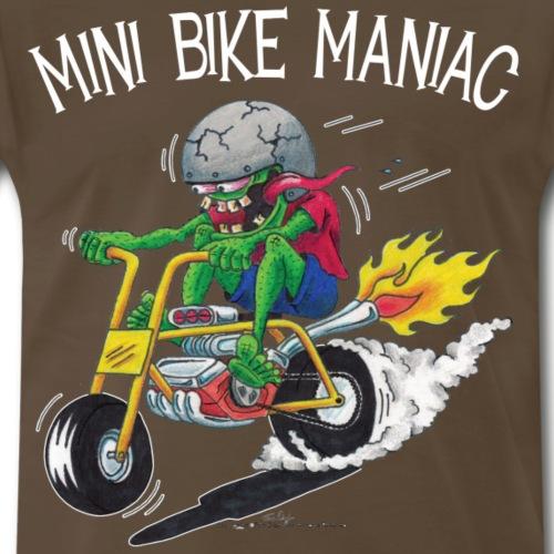 Original Mini Bike Maniac white letters