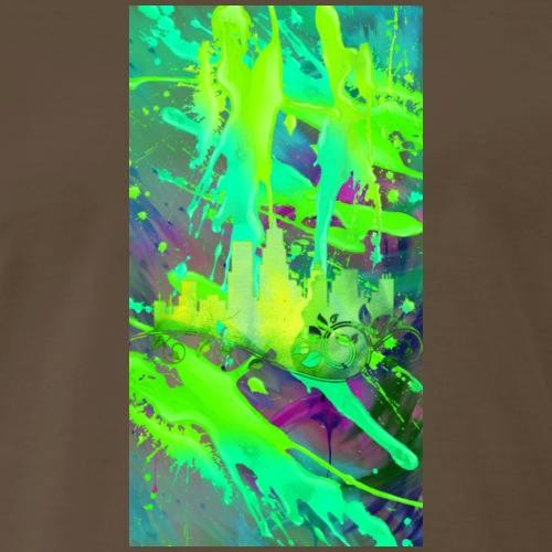 City Of Green Design 02 - Men's Premium T-Shirt