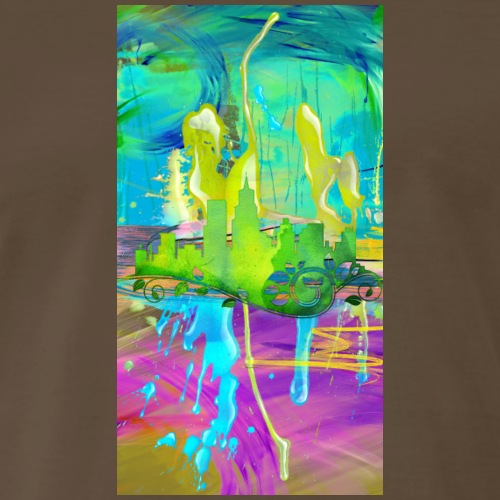City Of Green Design 05 - Men's Premium T-Shirt