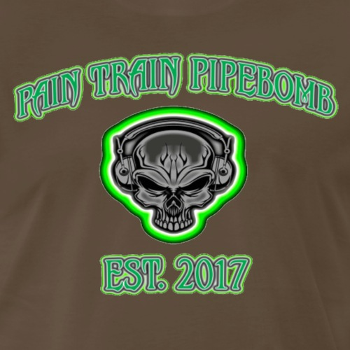 PAIN TRAIN ESTABLISHED 2017 SHIRT - Men's Premium T-Shirt