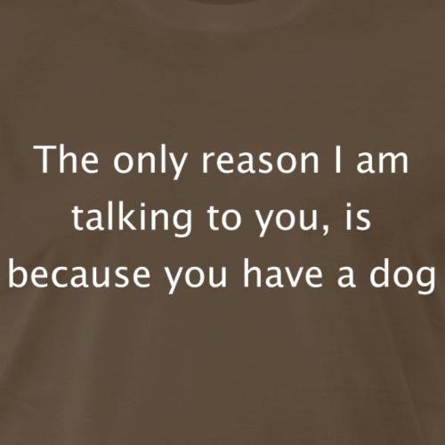 Doglover - White - Men's Premium T-Shirt