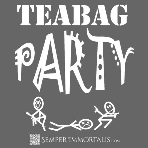 Teabag Party (white) - Men's Premium T-Shirt