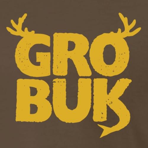 Petit Logo JAUNE - T-shirt premium pour hommes