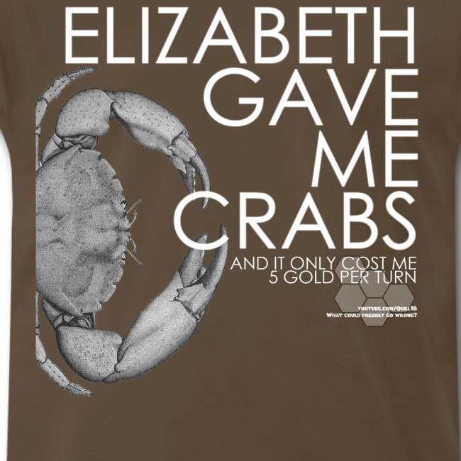 Crabs White Text