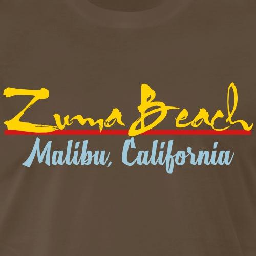 Zuma Beach - Malibu, California - Men's Premium T-Shirt