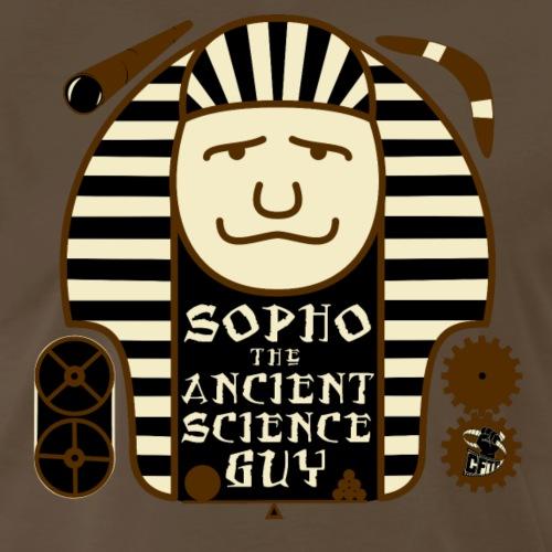 Sopho the Ancient Science Guy - Men's Premium T-Shirt