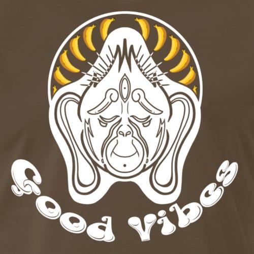 MM Series: Zen 2: Good Vibes Monochrome - Men's Premium T-Shirt