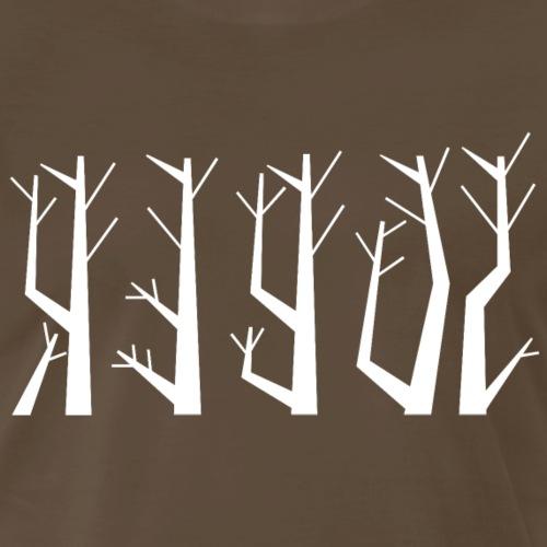 Sober - Abstract Trees - PrimeMeTee - Men's Premium T-Shirt