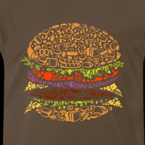 Food Lover Burger - Men's Premium T-Shirt