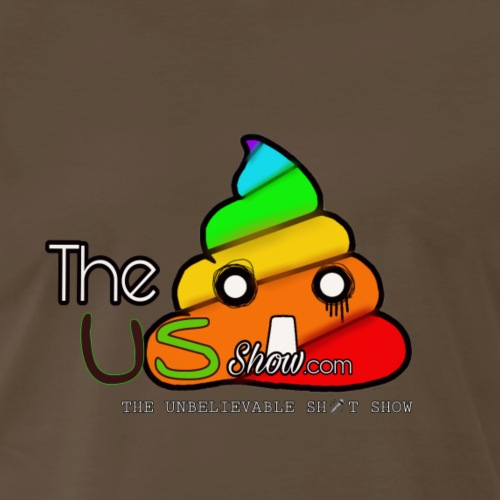 The US Show - Gummi Fudgeit Logo 1 - Men's Premium T-Shirt