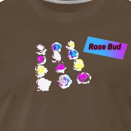 Rose Bud - Men's Premium T-Shirt